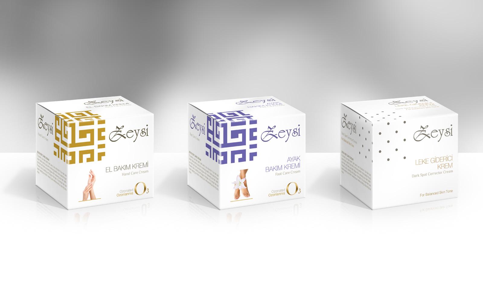 Creas Creative Tasarım ve Reklam Ajansı İzmir - Kozmetik Ambalaj Tasarımı