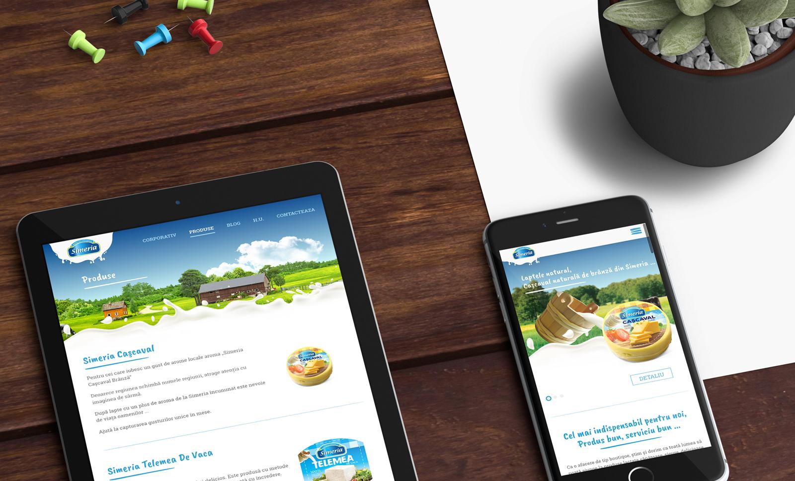 Creas Creative Tasarım ve Reklam Ajansı İzmir - Simeria Web Site Tasarımı
