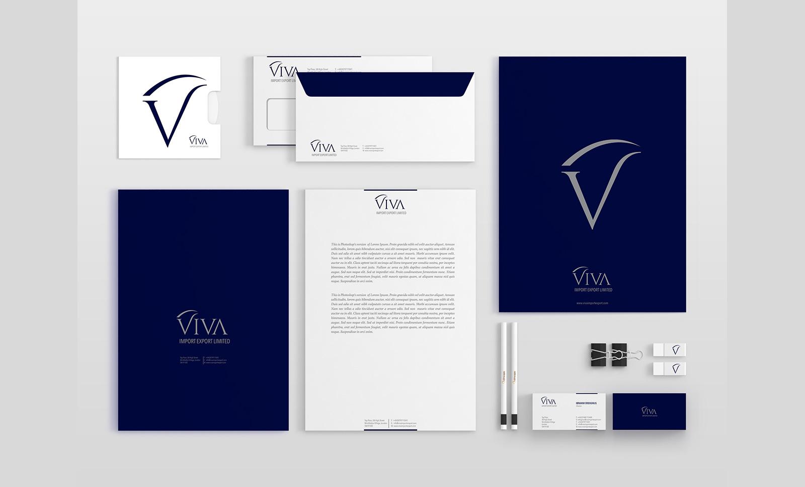Creas Creative Tasarım ve Reklam Ajansı İzmir - Viva Logo ve Kurumsal Kimlik Tasarımları